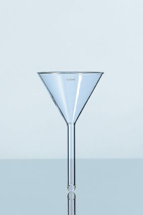 2 - قیف های شیشه ای
