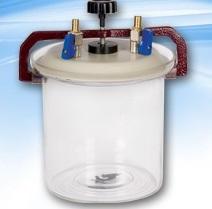anaerobic jar - شیشه آلات آزمایشگاهی