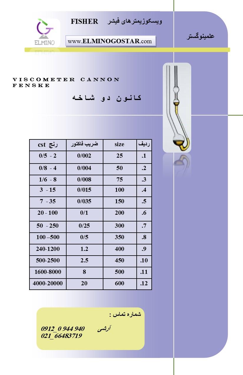 کانون - ویسکوزیمترکانون CANNON