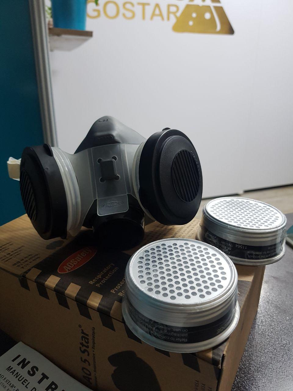 ماسک شیمیایی دو فیلتره